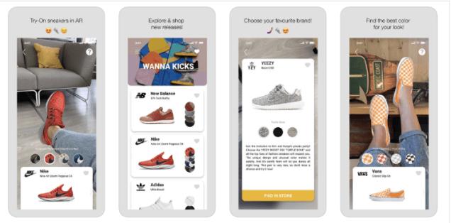 Белорусский AR-стартап Wannaby создал приложение для примерки обуви